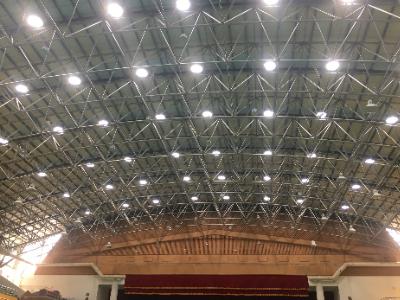 長榮大學體育館光導照明系統   媲美國際賽事規格