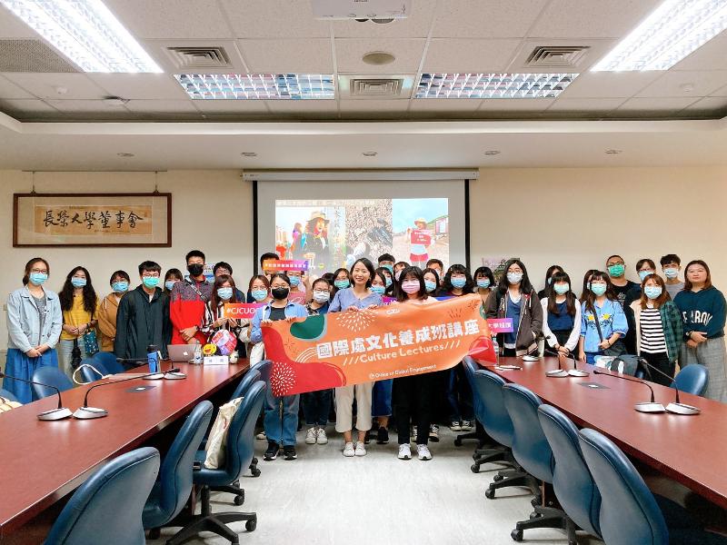 「山頂不是終點而是旅途中的一部分」 國際處文化養成班講座邀講者分享外派日本經驗