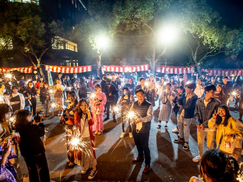 體驗日本文化  長榮大學應日系舉辦小小祭典