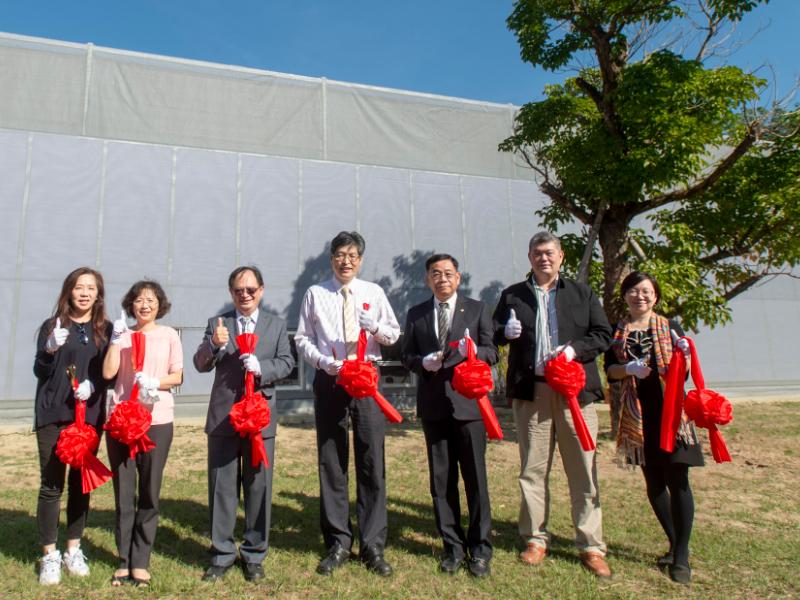 長榮大學蘭花學程教學溫室開幕啟用   校內完成實習 打造學生百分百就業力