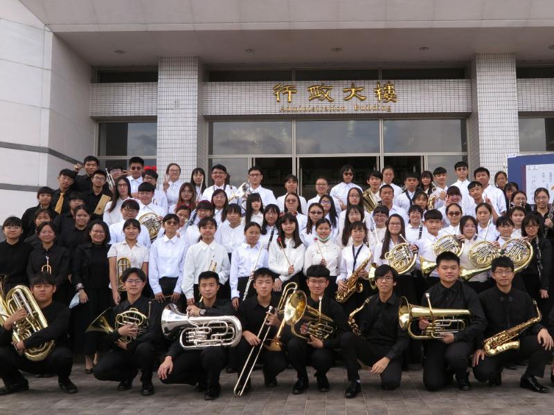 以樂會友 長榮大學高中管樂團校際交流音樂會 邀請溪湖高中、臺南二中聯合演出