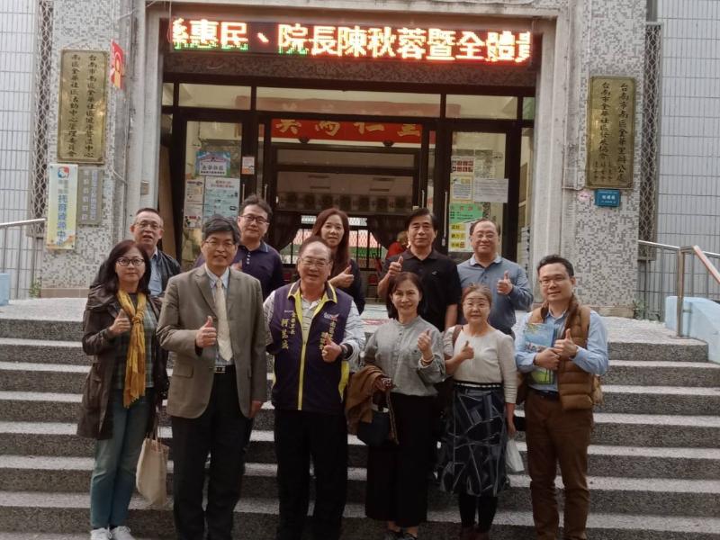 長榮大學參訪台南市金華里  邁向「國際安全學校」更進一步