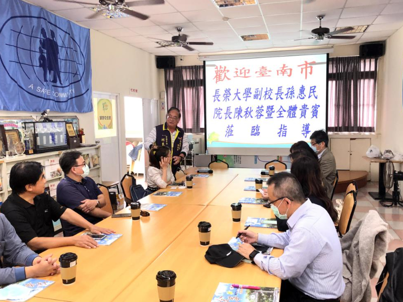 CJCU visits Jinhua Community in Tainan City to head for the International Safe School
