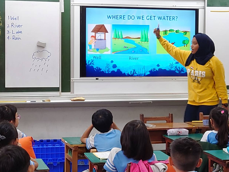 Environmental Education on Campus: English Green Drawing Book Reading Experience of Students of Datan Elementary School and CJCU