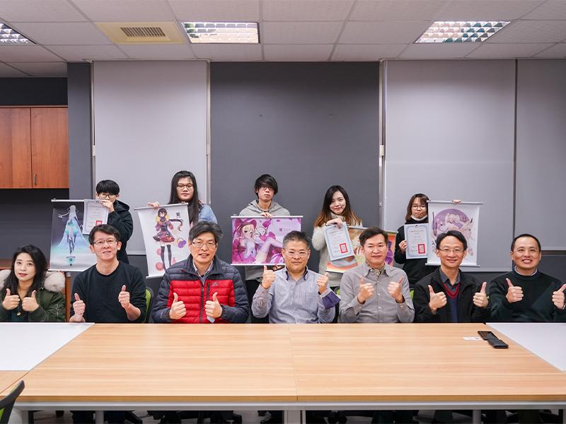 全國2020第三屆虛擬網紅設計大賽競賽 長榮大學5位學生獲獎表現優異