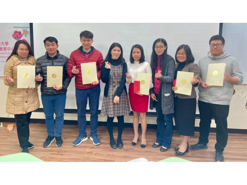 開心學華語   長榮大學越南籍博士生的中文學習初體驗