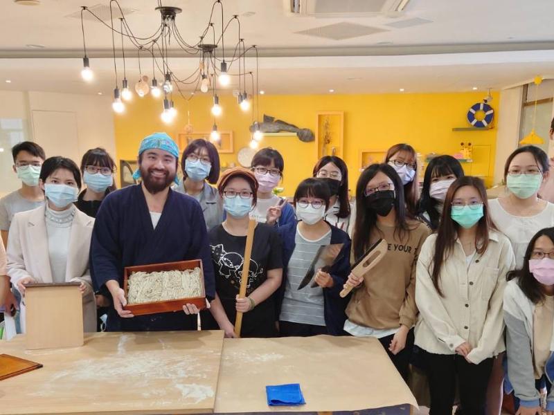 「#像極了留學系列講座」 手打蕎麥麵製作DIY