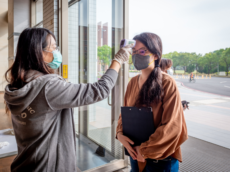 Pandemic Prevention Measures Taken by CJCU to Protect Students and Faculty