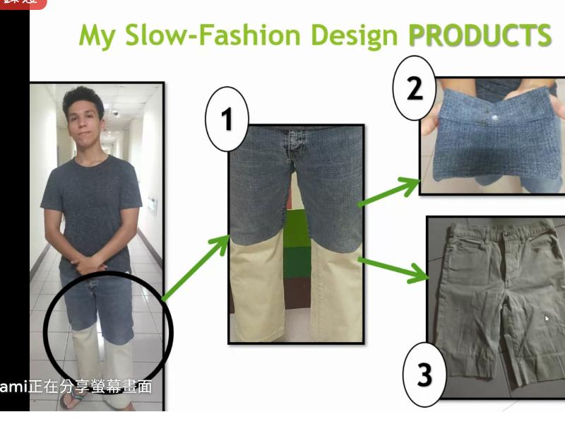 國際生SLOW-FASION SHOW 舊衣新裝實踐循環經濟