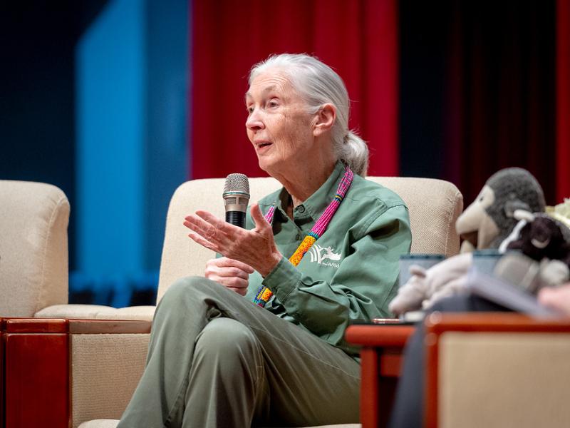 愛と知恵で神の創造力を促進 ジェーン・グドール博士が2021年テンプルトン賞を受賞