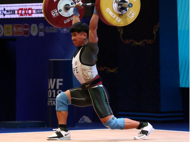 Weightlifters Kao Chan-Hung and Chen Po-Ren from the Department of Athletic Sports of CJCU to Compete at Tokyo Olympics