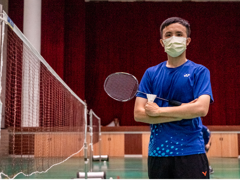 An Interview with Professor Fang Chie-Min from the Department of Athletic Sport with a World Ranking of 3 for Men's Doubles